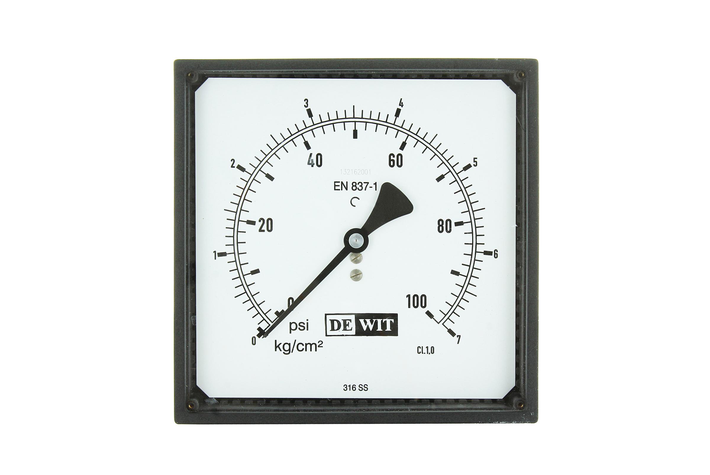 Manómetro para Tablero Dimensiones DIN