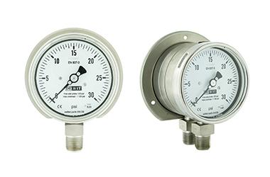 Manómetro de presión Diferencial con doble diafragma